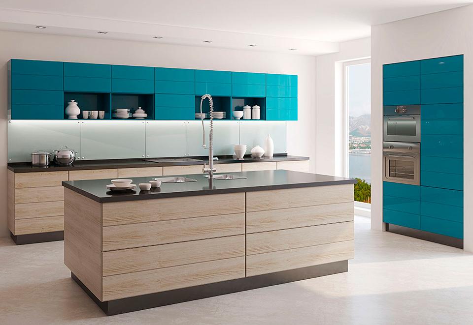 Color De Muebles De Cocina Cual Elegir Cocimobel - Colores-de-cocina