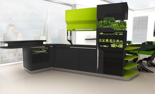 Cocinas del futuro cocimobel - Frigorifico del futuro ...