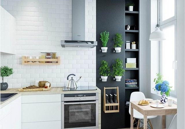 Decora una cocina peque a cocimobel for Como amueblar una cocina