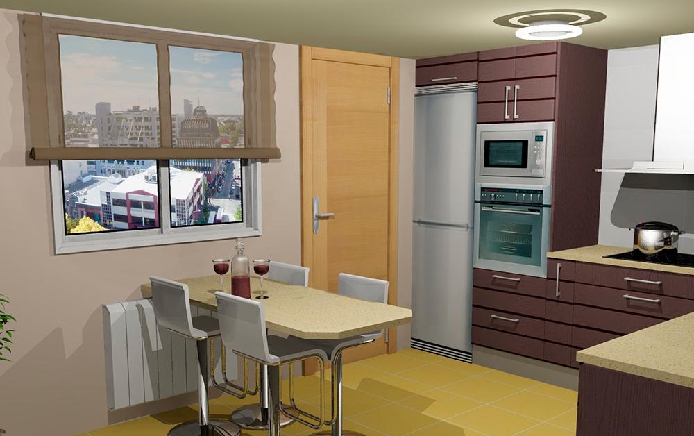 cocinas decoradas Colores Clidos Para Tu Cocina Cocimobel