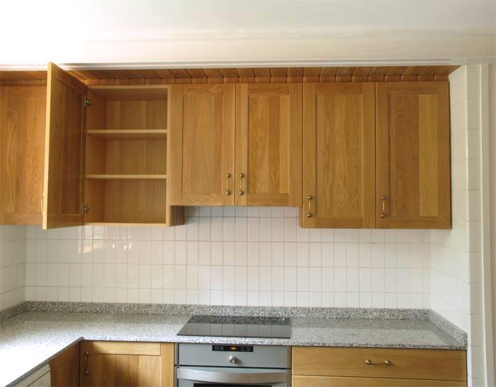Sistemas de apertura de muebles de cocina cocimobel for Muebles pino natural