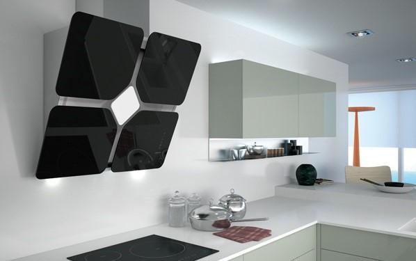 Tipos de campanas extractoras para tu cocina cocimobel - Campanas de cocina decorativas ...