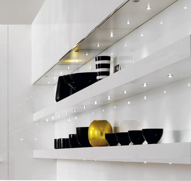 Sistemas de iluminaci n para la cocina cocimobel - Baldas de diseno ...